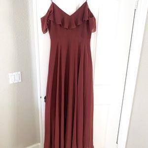 Jenny Yoo Mila dress- Cinnamon Rose size 8